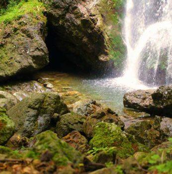 "Waterfall of ""Cianà"""