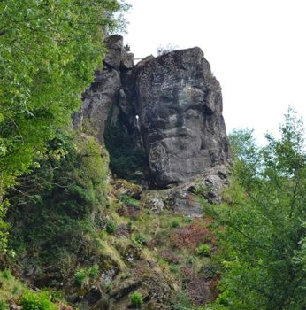 The megalithic face